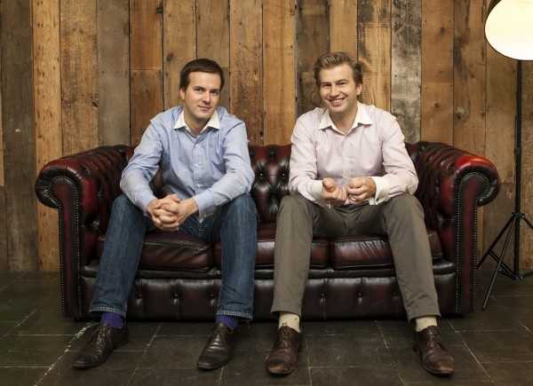 Taavet and Kristo - founders of Transferwise