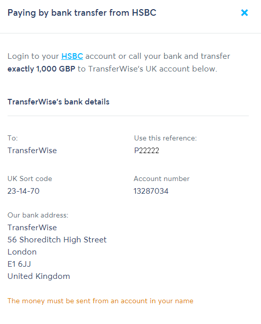 Pay with HSBC