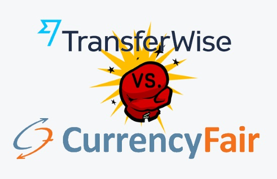 Transferwise vs. Currencyfair