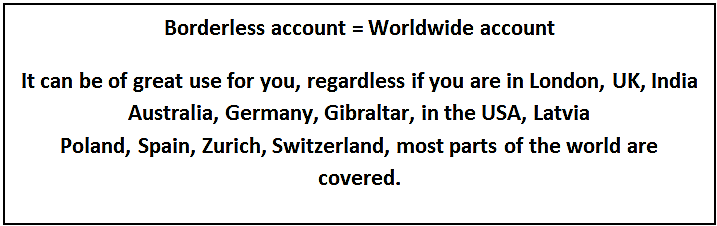 Worldwide account