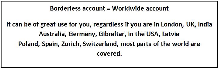 Worldwide account