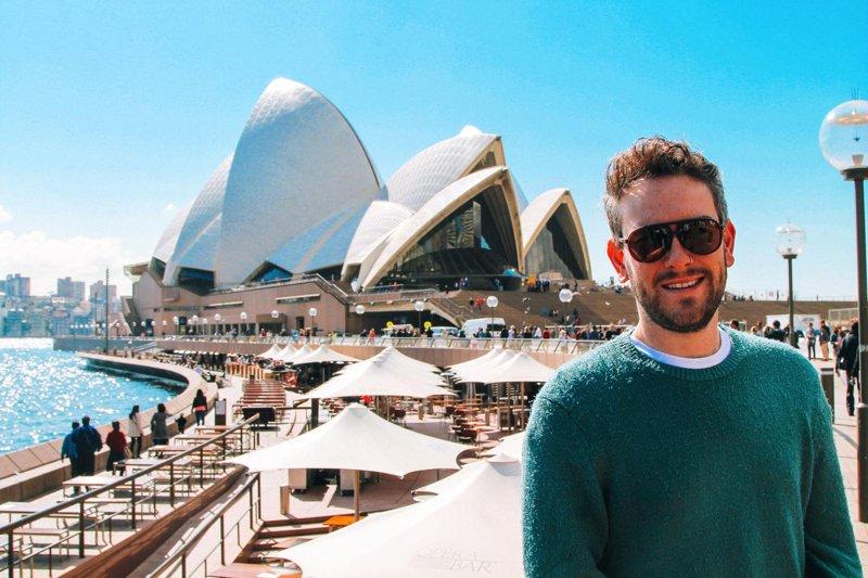 Australia Sydney Opera view
